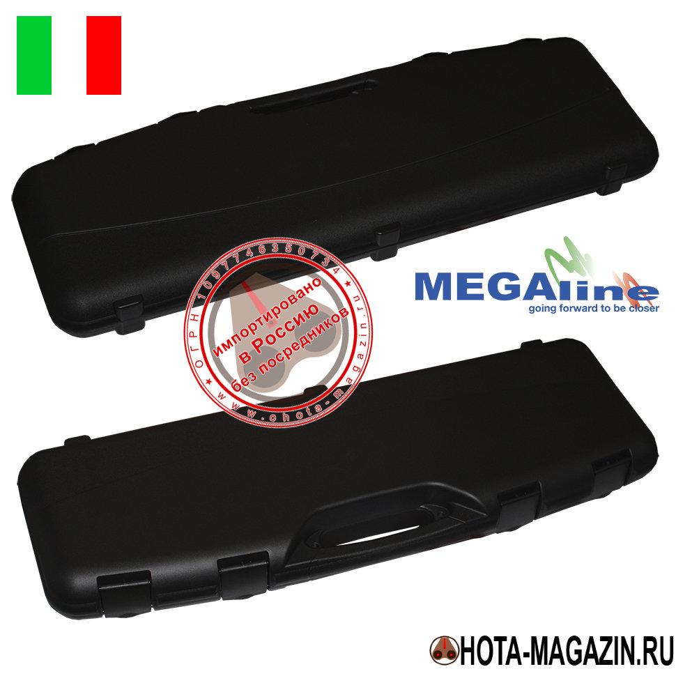 Кейс для оружия Megaline длина 82см APORTКейсы для оружия фирмы MEGAline<br>Оружейный кейс фирмы «Megaline» из прочного <br>пластика подходит для всех типов переломного <br>оружия, штуцеров и оптики. Кейс плотно запирается <br>на 4 пластиковые защёлки. Имеется отверстие <br>для запирания на дополнительный внешний <br>замок. Металлические петли утоплены внутрь, <br>что значительно увеличивает надёжность <br>запирания и срок эксплуатации. Внутренняя <br>часть кейса покрыта специальным маслостойким <br>поролоном. Такое покрытие исключает смещения <br>оружия, патронов, оптики, аксессуаров в <br>закрытом кейсе и сохраняет Ваше содержимое <br>от потёртостей и вмятин при транспортировке. <br>Удобная ручка не натирает руку при длительной <br>переноске кейса. Размер: 82х25х8 см.<br>