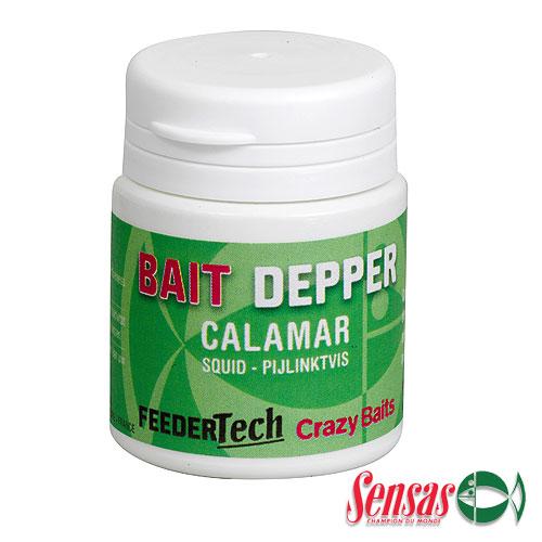 Ароматизатор Sensas Feeder Bait Dipper Squid 0.03ЛАроматизаторы<br>Ароматизатор Sensas Feeder BAIT DIPPER Squid 0.03л Кальмар/наносится <br>на насадку/уп.0,03л FEEDER BAIT DIPPER SQUID - дип с ароматом <br>кальмара, который позволит отсечь мелочь <br>и привлечёт к вашей насадке трофейные экземпляры <br>карпов.<br><br>Сезон: лето