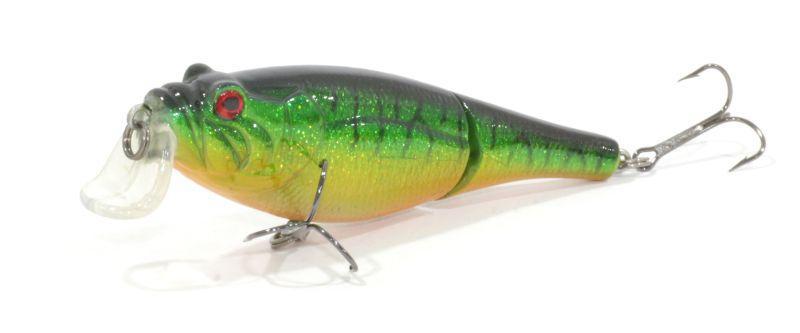 Воблер Trout Pro Rotan Joint 60F цвет HB10Воблеры<br>Двухсоставник бренда Trout Pro для ловли щуки. <br>Заглубление до 0,7 м дает возможность рыболову <br>облавливать этим воблером мелководные <br>заливы рек и водохранилищ, а плавная игра <br>с широкой амплитудой составной приманки <br>не оставит без внимания даже малоактивног...<br>