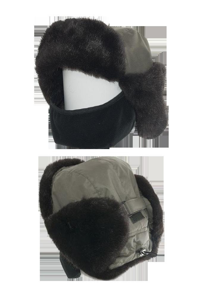 Шапка-ушанка Sarma С 030-1 норка (56-57)Шапки-ушанки<br>Шапка-ушанка комбинированная с ветрозащитной <br>маской. МАТЕРИАЛЫ: Верх шапки выполнен из <br>водонепроницаемого материала.Внутренний <br>слой – синтепон для лучшей теплоизоляции. <br>Подкладка выполнена из одностороннего <br>антипиллингового флиса, плотностью 290 г/м?. <br>Лицевые детали козырька, назатыльника и <br>ушек из искусственного меха. КОНСТРУКЦИЯ: <br>Шапка состоит из четырехклинного колпака <br>овальной формы, козырька и ушек.Такая конструкция <br>шапки позволяет носить ее в двух вариантах. <br>Козырек фиксируется при помощи застежек-липучек. <br>Ушки застегиваются при помощи регулируемой <br>застежки-фастекс. На затылочной части <br>шапки существует регулировка по индивидуальным <br>особенностям формы головы. Маска изготовлена <br>из флиса и предназначена для защиты нижней <br>части лица от холода и ветра.<br><br>Пол: мужской<br>Размер: 56-57<br>Сезон: зима<br>Цвет: облако<br>Материал: текстиль