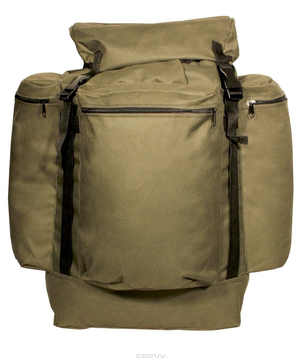Рюкзак Универсал город 55л ПВХ600 хаки, оливаРюкзаки<br>Простой, надёжный рюкзак с верхней загрузкой <br>для загородных прогулок на природе. Компактность <br>рюкзака обеспечит маневренность, а отсутствие <br>высокого верхнего клапана расширит обзор <br>Технические характеристики: Регулируемые <br>лямки Одно большое отделение для снаряжения <br>на утяжке с верхним клапаном Верхний клапан <br>с дополнительным объёмом Регулировка высоты <br>верхнего клапана при помощи стропы и фастекса <br>Усилительные стропы на фронтальной части <br>и на верхнем клапане Три объёмных кармана <br>на молнии<br><br>Пол: унисекс<br>Цвет: оливковый