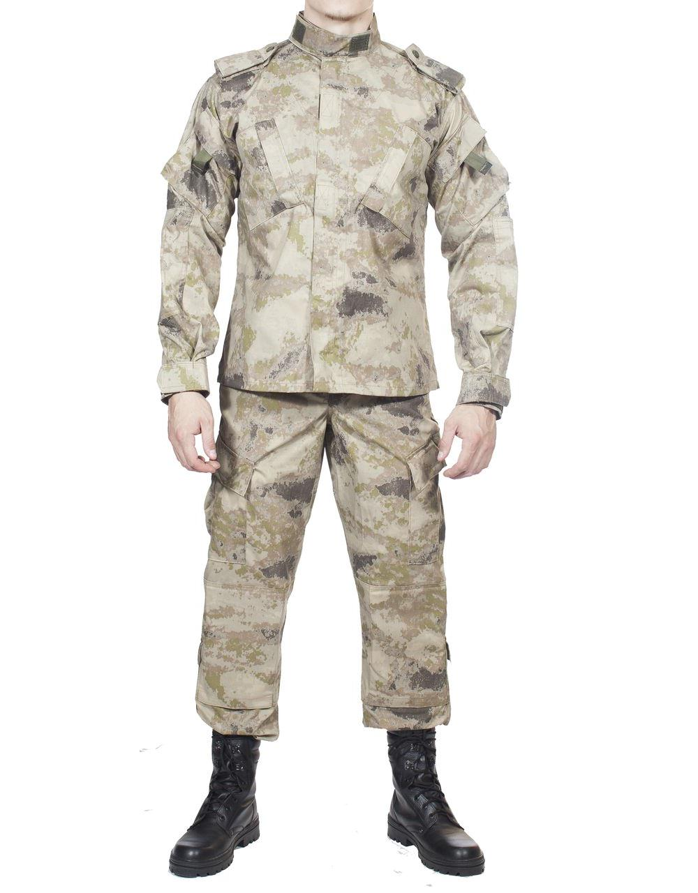 Костюм летний МПА-04 (НАТО-1) КМФ (мираж, песок), Костюмы неутепленные<br>Костюм состоит из куртки и брюк. В зоне <br>локтей и коленей имеются карманы для размещения <br>протекторов. Особенностями летнего тактического <br>костюма являются: максимальный комфорт, <br>свобода движений и повышенная износостойкость. <br>ХАРАКТЕРИСТИКИ ДЛЯ ИНТЕНСИВНЫХ НАГРУЗОК <br>ИДЕАЛЬНАЯ МАСКИРОВКА ДЛЯ АКТИВНОГО ОТДЫХА <br>МАТЕРИАЛЫ 65% П/Э, 35% Х/Б<br><br>Пол: мужской<br>Размер: 60<br>Рост: 188<br>Сезон: лето<br>Цвет: песок (фотокамуфляж)<br>Материал: текстиль