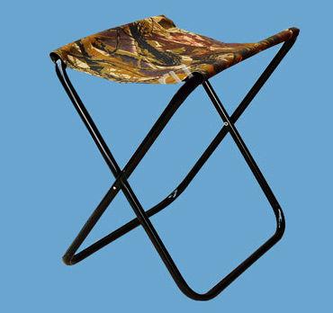 Стул складной рамочный (420 мм)Стулья, кресла<br>Стальная труба, диаметр 16х1,0 мм, порошковая <br>окраска, ткань полиэфир 100% «Оксфорд» 240D <br>или «Оксфорд» 600D дублированный, ПВХ; дизайны: <br>«Лес»,«Камыш», «Камуфляж». Размер сиденья <br>290х250мм; размер стула в сложенном виде 490х340мм; <br>Вес – 1,2 кг. Максимальная нагрузка – 130 кг<br>