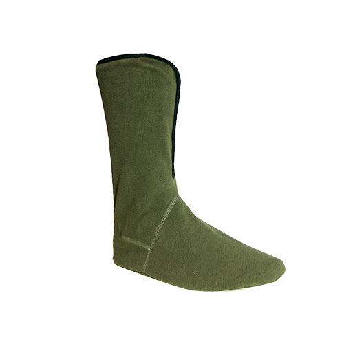 Носки Norfin Cover Long ФлисовыеНоски<br>Носки Norfin COVER LONG флисовые разм.(42-45)/мат.полиэстер/высокие/темп. <br>Оч.холодно Дышашие носки из флиса, сшитые <br>в виде чуней. Материал обладает высокими <br>теплоизолирующими свойствами, как натуральная <br>шерсть.<br><br>Пол: мужской<br>Сезон: демисезонный<br>Цвет: зеленый