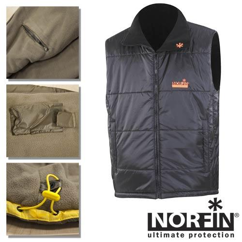 Жилет Norfin Vest Black 35100
