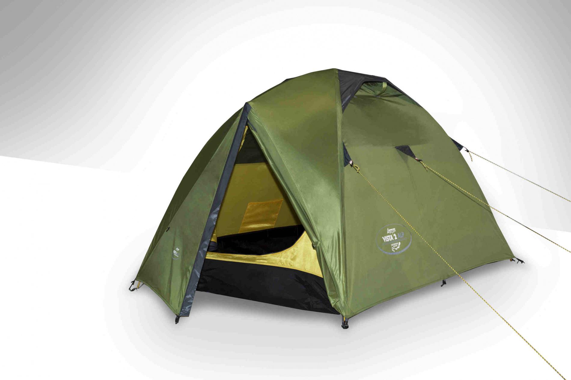 Палатка Canadian Camper VISTA 3 AL (цвет green) canadian camper cyclone 3 alu green