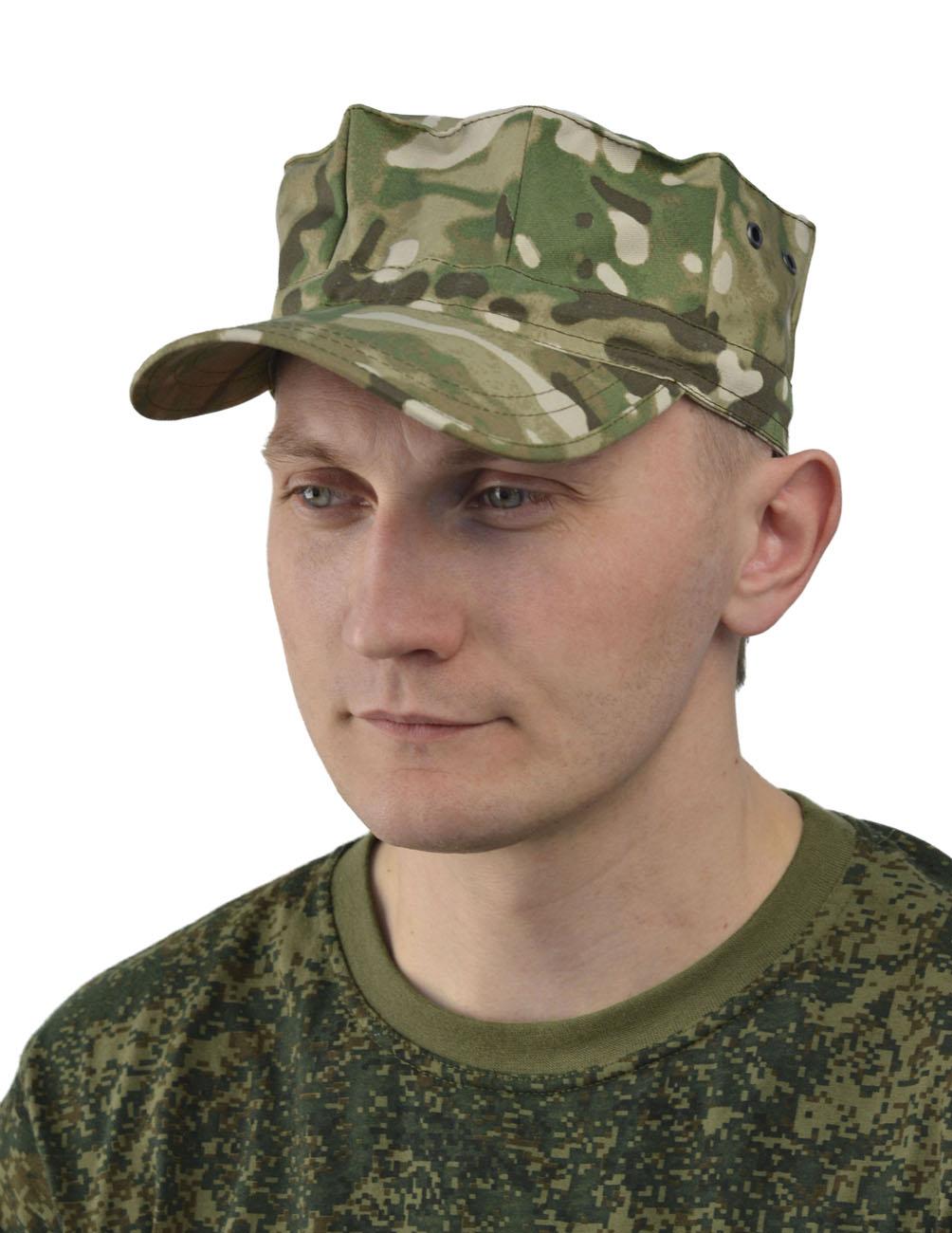 Кепка Gerkon Commando мультикам (Неизвестная Кепки<br><br><br>Пол: мужской<br>Сезон: лето<br>Материал: Смесовая (50% хлопок, 50% полиэфир), пл. 210 г/м2,
