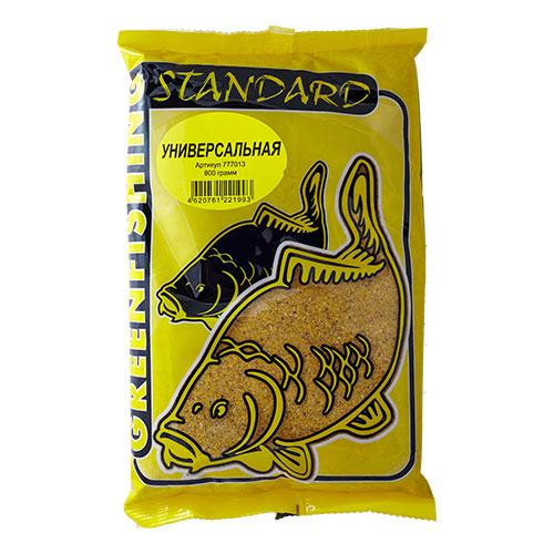 Прикормка Gf Standard Универсальная 0.800КгПрикормки<br>Прикормка GF Standard УНИВЕРСАЛЬНАЯ 0.800кг пакет <br>0,8кг/ароматика: ваниль/цвет: желтый/смесь <br>Прикормки ТМ Greenfishing серия STANDARD – покупатель <br>получает продукт высокого качества за небольшую <br>стоимость, в основе прикормки: высококачественные <br>бисквиты, кондитерские ингредиенты, печенье, <br>масленичные зерновые, импортные ароматизаторы. <br>Фракция прикормки однородная, что является <br>плюсом в приманивании рыбы, с хорошим пофракционным <br>распадом.<br><br>Сезон: лето