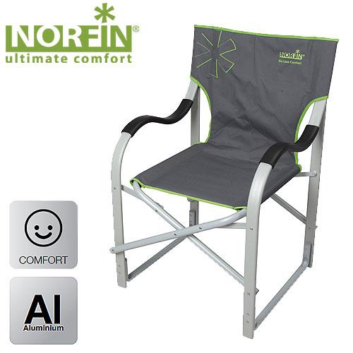Кресло Складное Norfin Molde Nf АлюминиевоеСтулья, кресла<br>Складное кресло - прекрасный выбор для <br>ценящих комфорт рыбаков. Усиленный алюминиевый <br>каркас способен выдержать максимальные <br>нагрузки. Конструкция ножек кресла придает <br>дополнительную устойчивость креслу, препятствует <br>его проваливанию в песок или грунт. Особенности: <br>- габариты 47,5x40x46/93,5 см; - размер в сложенном <br>виде 92x56x20 см; - максимальная нагрузка 120 <br>кг; - каркас из алюминия 25 мм.<br><br>Сезон: лето<br>Цвет: зеленый<br>Материал: 600D polyester