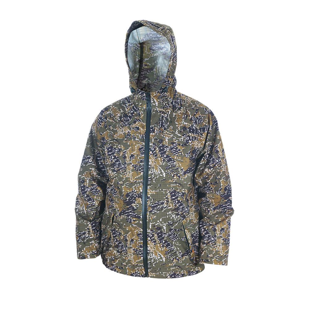 Непромокаемый маскировочный костюм ХСН Костюмы неутепленные<br>Изготовлен из нешуршащей влагостойкой <br>синтетической ткани. Все швы проклеены. <br>В комплект входит куртка и брюки. Особенности: <br>- молнии - влагозащищенные; - вентилируемая <br>кокетка; - застегивается на молнию; - утягивающийся <br>капюшон.<br><br>Пол: мужской<br>Размер: 50 - 52 / 188<br>Сезон: лето<br>Цвет: зеленый<br>Материал: Oxford 250 (100% п.э.)