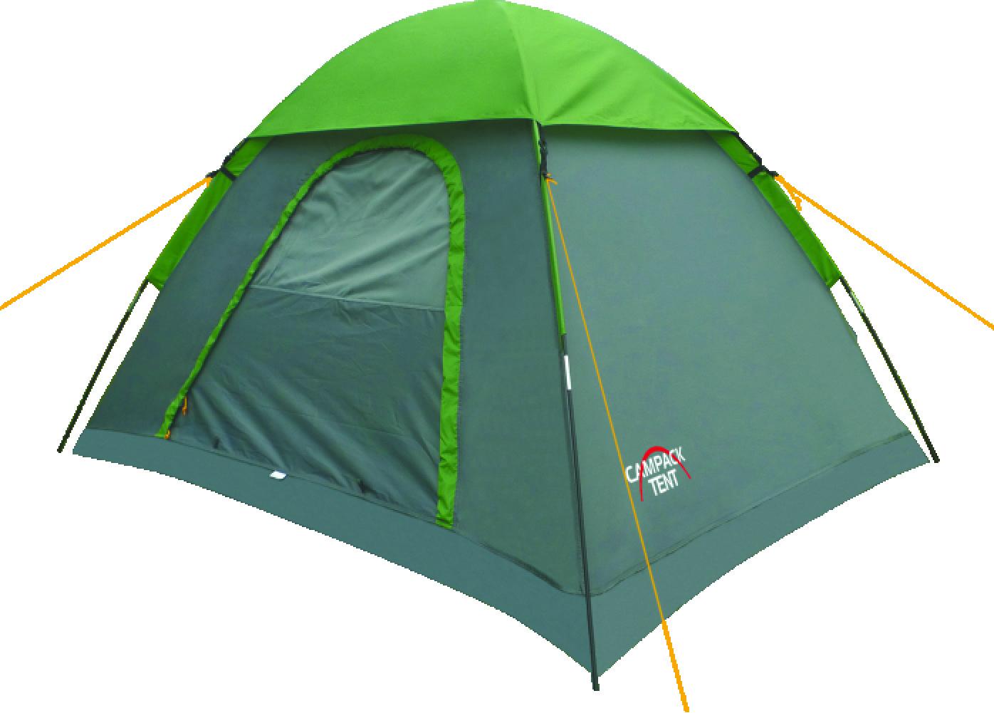 Палатка туристическая CAMPACK-TENT Free Explorer 2 палатка трехместная campack tent breeze explorer 3