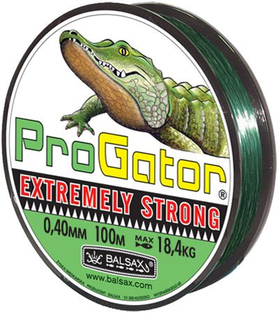 Леска BALSAX Progator 100м 0,40 (18,4кг.)Леска монофильная<br>Леска Progator - крепкая леска, особенно рекомендуемая <br>для ловли хищной рыбы. Прекрасно подходит <br>для спиннинга.<br><br>Сезон: лето