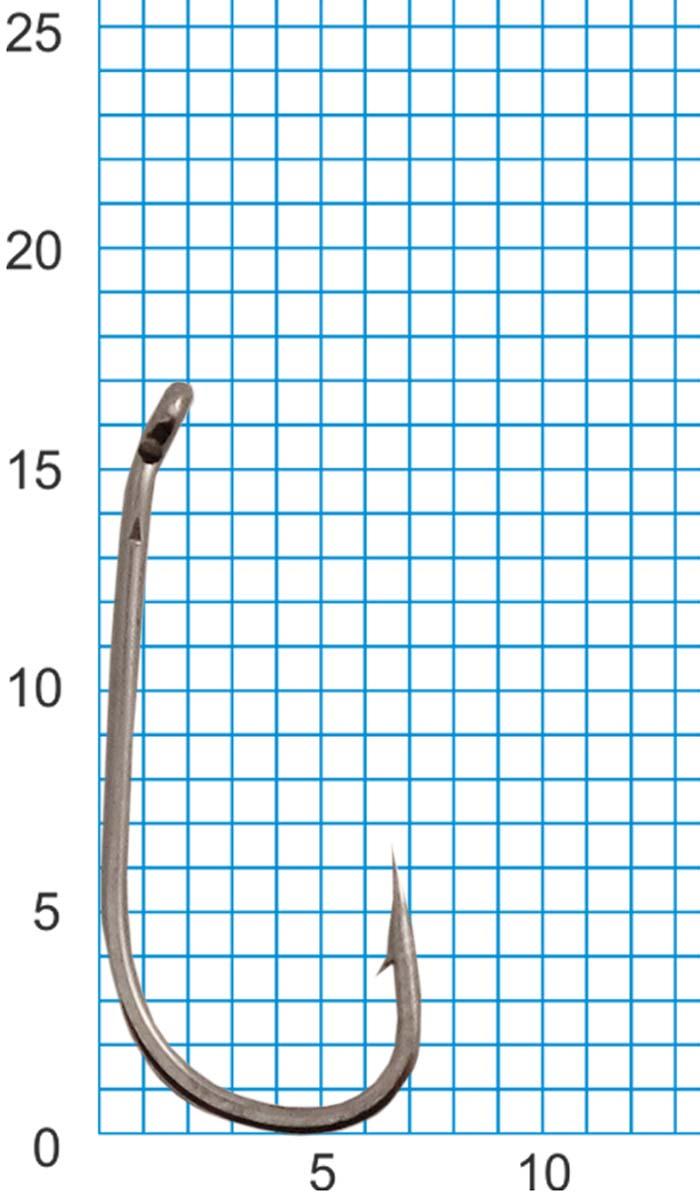 Крючок SWD SCORPION CARP DOWN №8BLN W/R (10шт.)Одноподдевные<br>Бюджетный одинарный крючок с колечком. <br>Технологии производства: - для производства <br>крючков используется высококачественная <br>углеродистая легированная проволока; - <br>применяются новейшие технологии термообработки; <br>- стойкое антикоррозийное покрытие; - электрохимическая <br>заточка жала. Размер крючка - №8 Кованный <br>поддев Цвет - черный никель Количество <br>в упаковке - 10шт.<br>