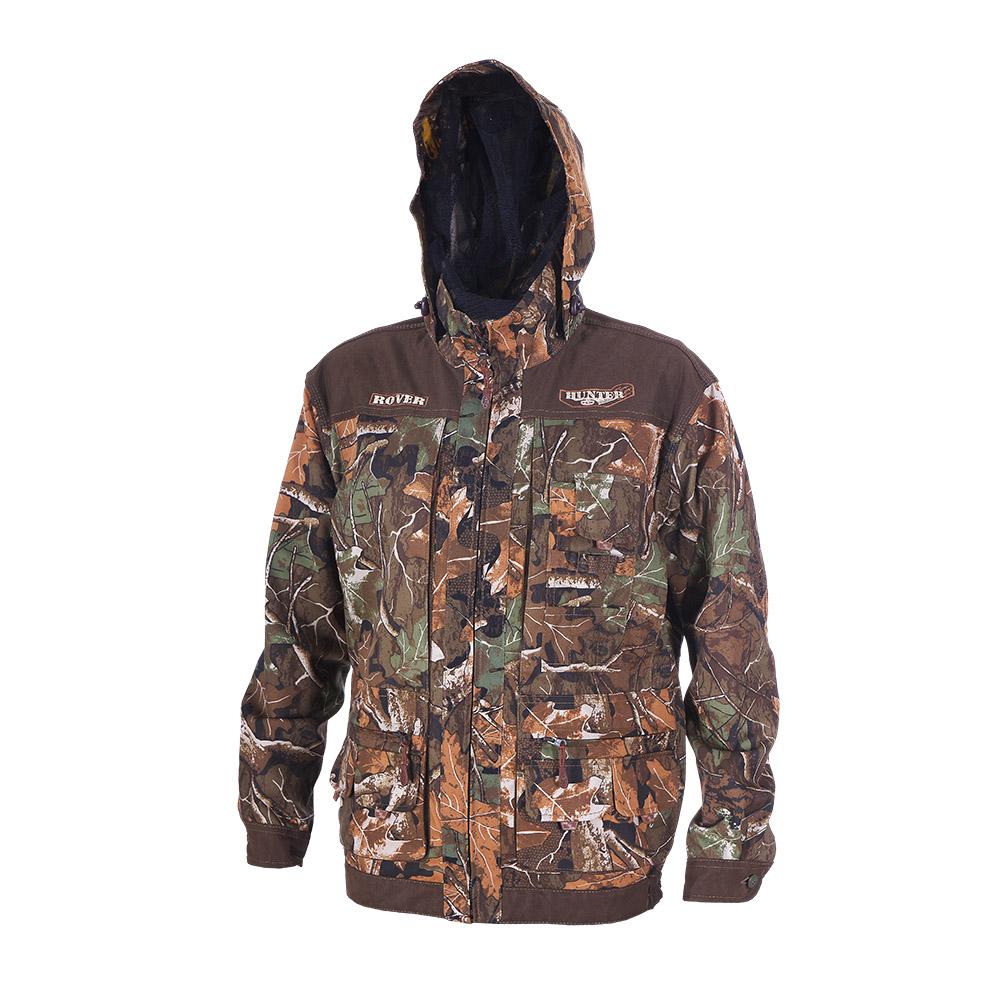 Куртка ХСН «Ровер-охотник» (9792-1) (Дубок, Куртки неутепленные<br>Отлично подойдет любителям охоты и активного <br>отдыха. Куртка изготовлена из нешуршащей <br>хлопкоэфирной ткани с водоотталкивающей <br>пропиткой. Комфортная температура эксплуатации: <br>от +10°С до +20°С. Особенности: - утягивающийся <br>съемный капюшон с козырьком; - вшитая противомоскитная <br>сетка; - 11 объемных карманов, позволяющих <br>удобно разместить в них флягу, телефон и <br>все необходимое; - особый крой рукава, обеспечивающий <br>свободу движения; - застегивается на молнию; <br>- усиленная ткань на плечах; - манжеты на <br>пуговицах с возможностью регулировки ширины; <br>- двойной джинсовый запошивочный шов.<br><br>Пол: мужской<br>Размер: 58 - 60 / 188<br>Сезон: лето<br>Цвет: коричневый<br>Материал: Хлопкополиэфирная ткань