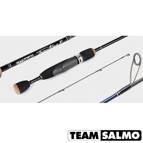 Спиннинг Team Salmo Troutino F 8 6.5Спинниги<br>Удилище спин. Team Salmo TROUTINO 8 6.5 дл.6.5ft(1.98)м/тест <br>2.5-8/строй M/кл. L/вес 83г/2ч./дл.тр.101см./PE2-6lb Спиннинги <br>TROUTINO специально разрабатывались для любителей <br>ловли форели. Они становятся продолжением <br>руки рыболова, позволяют почувствовать <br>малейшую поклёвку, а бланк этого спиннинга <br>буквально вяжет рыбу, отрабатывая каждый <br>её рывок и тем самым позволяя избежать обрывов <br>даже при использовании тонких лесок. На <br>спиннингах используется разнесённая рукоятка <br>из материала EVA с катушкодержателем FUJI, <br>а также кольца KIGAN с циркониевыми вставками <br>серии ZERO TANGLE GUIDES, препятствующими их захлёсту <br>тонкими плетёными шнурами. Для изготовления <br>бланка использован высокомодульный графит <br>40T HI-modulus Carbon.<br><br>Сезон: лето