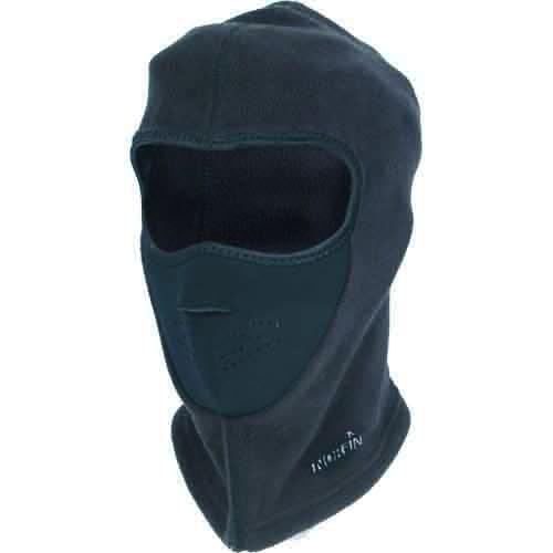 Шапка-Маска Norfin ExplorerБалаклавы, маски<br>Шапка-маска Norfin EXPLORER р.L разм.L/перед-неопр./мат.полиэстер <br>Шапка-маска из полиэстера. Предняя часть- <br>неопрен.<br><br>Пол: мужской<br>Размер: L<br>Сезон: зима<br>Цвет: черный