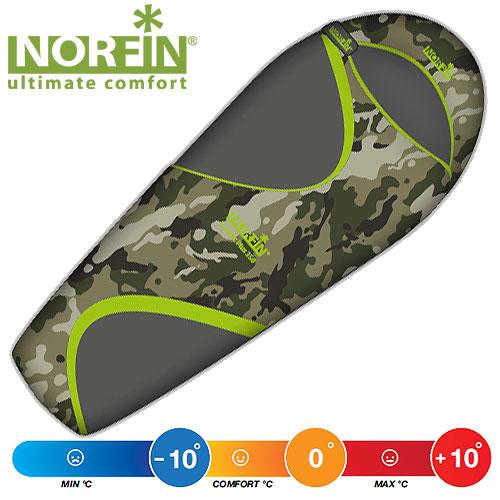 Мешок-Кокон Спальный Norfin Scandic Plus 350 Nc L NC-30111