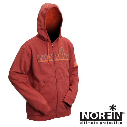 NORFIN Толстовка Hoody Terracota 71100