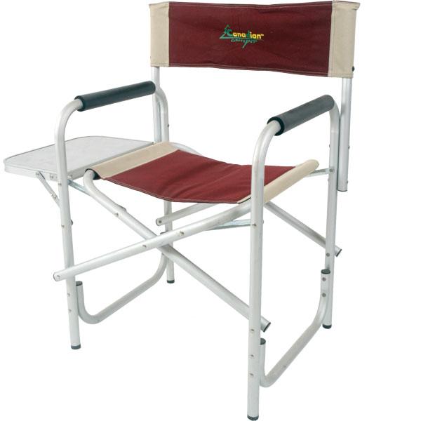 """CC-100AL Кресло складное Canadian Camper (алюминий)Стулья, кресла<br>СС-100AL - складное кресло с мягкими подлокотниками <br>для отдыха на природе, рыбалки, загородного <br>дома и т.д. На одном из подлокотников складной <br>""""барный"""" столик. Каркас кресла выполнен <br>из алюминиевой трубы. Специальная конструкция <br>ножек с дополнительной нижней трубой обеспечивает <br>прочность всей конструкции и препятствует <br>проваливанию кресла в песок. Тканевые элементы <br>кресла выполнены из стойкого к ультрафиолетовому <br>излучению материала. В сложенном состоянии <br>представляет собой плоский пакет, что упрощает <br>его транспортировку и хранение. Особенности: <br>размер - 60х47х47/80 см вес - 3,2<br>"""