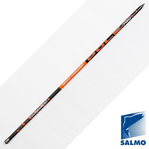 Удилище Поплавочное Без Колец Team Salmo Tournament Удилища поплавочные<br>Удилище попл.без кол. Team Salmo TOURNAMENT POLE 6.01 <br>дл.6.00м/тест 2-12г/строй F/198г/5секц./дл.тр.150см <br>Высококачественное телескопическоеудилище <br>быстрого строя средней жесткости. Диаметр <br>хлыста подконнектор 1.00мм. • Материал бланка <br>удилища – углеволокно T40 • Строй бланка <br>быстрый • Конструкция телескопическая <br>• Рукоятка с противоскользящим покрытием<br><br>Сезон: лето
