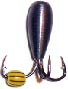 Морм. Вольф.Dixxon-Rus чертик с отверстием Мормышки<br>Мормышка вольфрамовая для подледной ловли. <br>Вес - 1,53 г Цвет - медь<br>