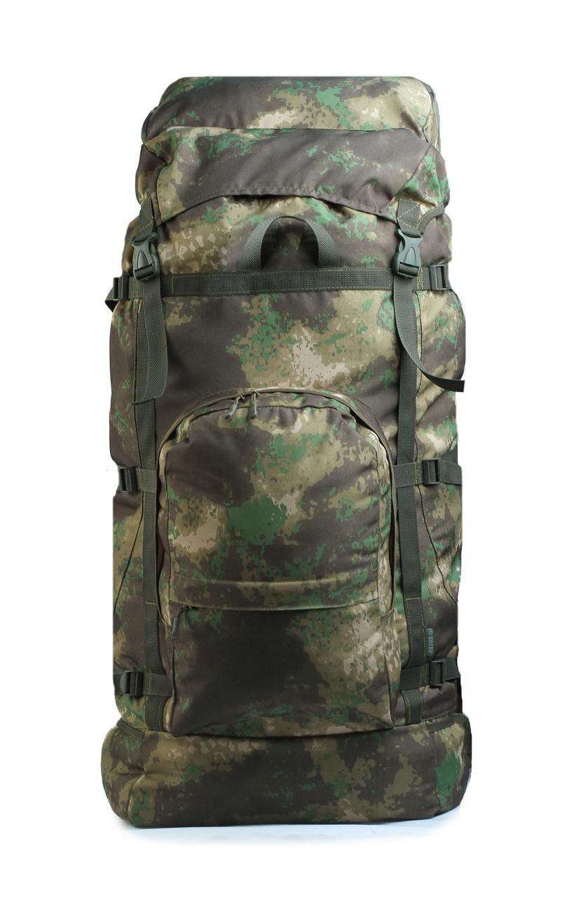 Рюкзак Гризли 100 литров тк.Оксфорд 600 D Рюкзаки<br>Экспедиционный рюкзак с верхней загрузкой <br>для непродолжительных походов. Спинка и <br>ремни имеют комфортабельную подкладку. <br>Верхний утягивающийся вход Съёмная крышка <br>с карманом и прорезиненным эластичным шнуром <br>Регулируемая по высоте крышка рюкзака Боковые <br>компрессионные стропы Объёмный передний <br>карман на молнии Боковые карманы на резинке <br>Боковые петли для крепления дополнительных <br>аксессуаров Регулирующийся поясной ремень. <br>Материал: ткань Оксфорд 600<br>