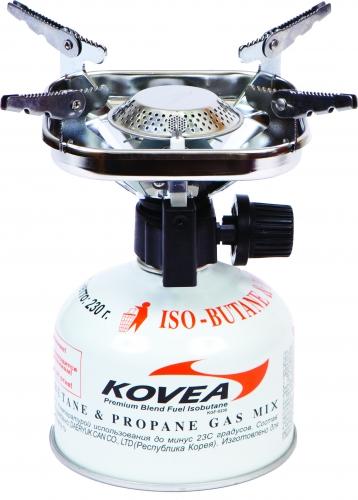 Горелка газовая Kovea ТКВ-8901Горелки<br>Популярная кемпинговая горелка с пъезоподжигом. <br>Благодаря увеличенному размеру головки <br>пламя горелки расходится широко в стороны, <br>что уменьшает вероятность пригорания пищи. <br>Раскладные лапки конфорки позволяют использовать <br>посуду большого размера и приготовить пищу <br>на нескольких человек. Теплоотражающий <br>экран квадратной формы экономит топливо <br>и эффективно отражает тепло горелки на <br>дно кастрюли, увеличивая тем самым КПД. <br>Горелка работает от баллона резьбового <br>стандарта, но возможно и подсоединение <br>к цанговому баллону при помощи адаптера <br>со шлангом Cobra. Модель TKB-8901 Вес 338 г Расход <br>топлива 110 г/ч Размер упаковки 122x100x125 мм <br>Диаметр конфорки 20 см Пъезоэлемент есть <br>Комплектация Газовая горелка, пластиковый <br>кофр, инструкция по эксплуатации.<br>