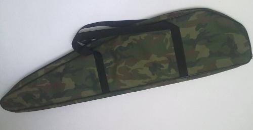 Чехол на молнии для карабина «Тигр», Вепрь», Чехлы<br>Классический чехол для транспортировки <br>и хранения охотничьего нарезного оружия <br>«Тигр», Вепрь», Сайга» . Материал- прочная <br>капроновая ткань с прокладкой из изолона. <br>Фактическая длина - 120 см.<br>