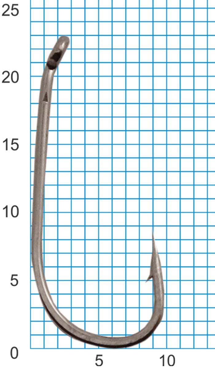 Крючок SWD SCORPION CARP DOWN №4BLN W/R (10шт.)Одноподдевные<br>Бюджетный одинарный крючок с колечком. <br>Технологии производства: - для производства <br>крючков используется высококачественная <br>углеродистая легированная проволока; - <br>применяются новейшие технологии термообработки; <br>- стойкое антикоррозийное покрытие; - электрохимическая <br>заточка жала. Размер крючка - №4 Кованный <br>поддев Цвет - черный никель Количество <br>в упаковке - 10шт.<br>