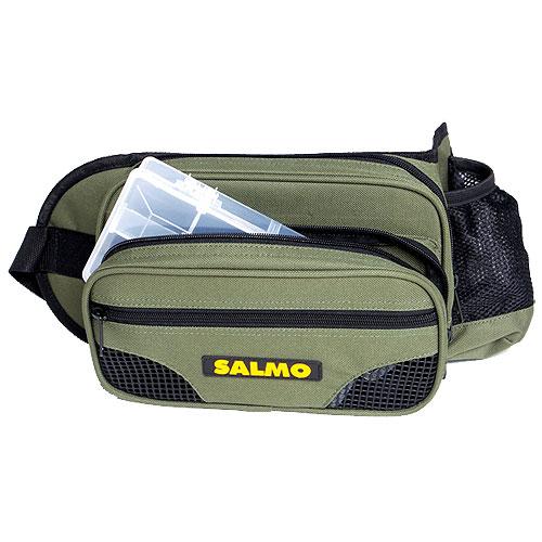 Сумка Рыболовная Поясная Salmo 59Сумки<br>Сумка рыболов. поясн. Salmo 59 Разм.23x11x3,5(см). <br>• Пластиковая коробка в комплекте<br><br>Сезон: Летний