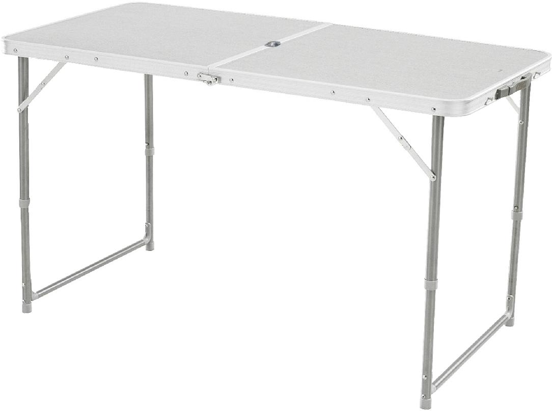 Стол Woodland Family Table Luxe, складной, 120 x 60 x 70 см Столы<br>МОДЕЛЬ: Family Table U МАТЕРИАЛЫ: Алюминий МДФ <br>РАЗМЕР: 120 x 60 x 70 см. ВЕС: 4,4 кг. С отверстием <br>под зонт. Компактная складная конструкция. <br>Прочный алюминиевый каркас. Материал столешницы <br>- МДФ.. Удобная ручка для переноски. Максимально <br>допустимая нагрузка 30 кг<br>