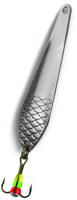 Блесна зимняя SWD DIJ 043А (35мм, вес 2г, сереб, Блесны<br>Зимняя вертикальная блесна (цвет серебро) <br>для отвесного блеснения. Длина 35мм, вес <br>2г. Оснащена тройником №12 со светонакопительной <br>каплей. Упакована в блистер.<br>
