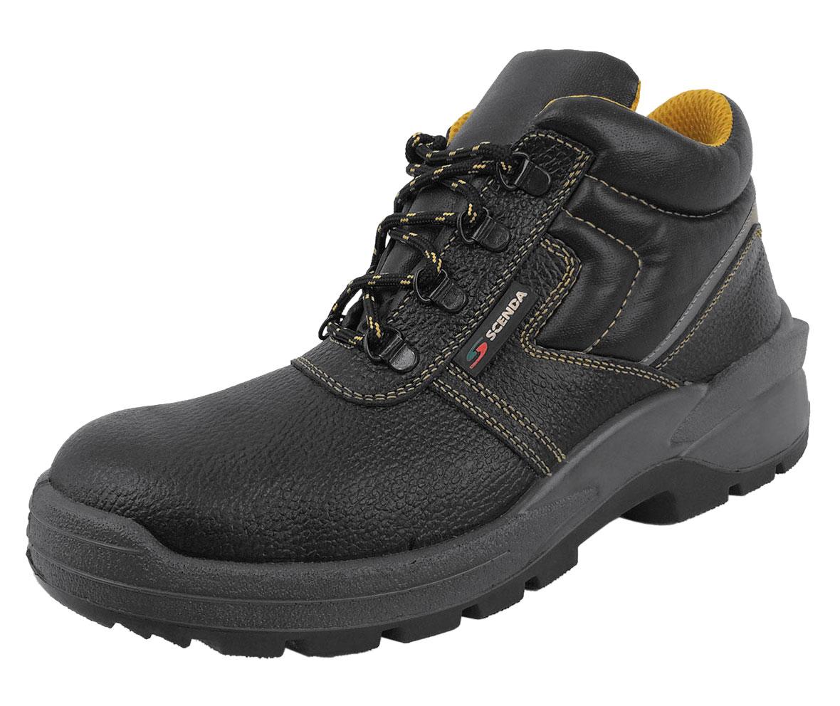 Ботинки кожаные PROFI (42)Ботинки рабочие<br><br><br>Пол: мужской<br>Размер: 42<br>Сезон: лето<br>Цвет: черный