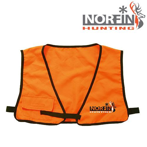 Жилет Безопасности Norfin Hunting Safe Vest (XL, 725004-XL)Жилеты спасательные<br>Оранжевый жилет безопасности необходим <br>при охоте в большой компании, либо при загонной <br>охоте. Фиксируется с помощью лямок с липучками, <br>что позволяет отрегулировать его под любой <br>размер.<br><br>Пол: унисекс<br>Размер: XL<br>Сезон: лето<br>Цвет: оранжевый<br>Материал: текстиль