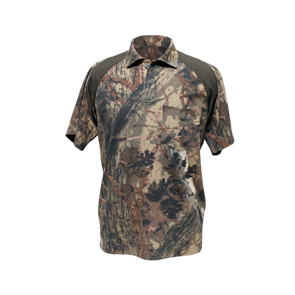 Рубашка ХСН «Сталкер» (Лес, 48/182-188, 9954-2)Рубашки к/рукав<br>Рубашка мужская хорошо подходит для ношения <br>летом. Изготовлена из специальной ткани <br>«Термополотно» и сетки для активной вентиляции. <br>На груди имеются накладные карманы.<br><br>Пол: мужской<br>Размер: 48/182-188<br>Сезон: все сезоны<br>Цвет: камуфляжный<br>Материал: Термополотно