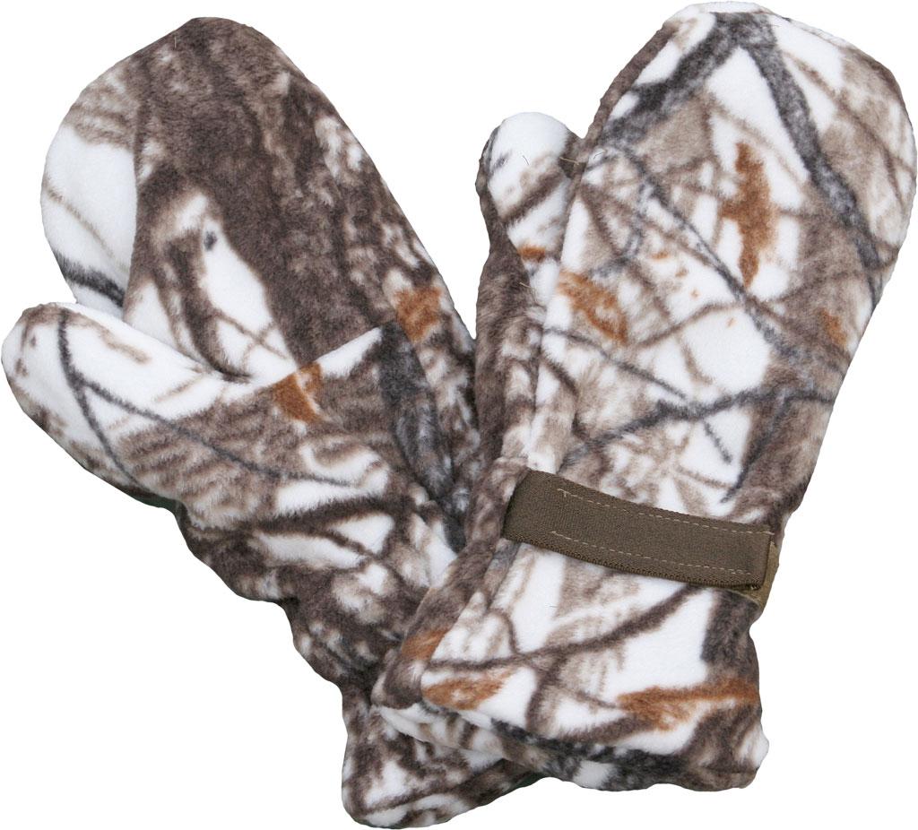 Варежки ХСН (731-4) (Белый лес, XL-XXL, 731-4)Варежки<br>Изделие предназначено для охотников, рыболовов <br>и любителей активного отдыха. Изготовлен <br>из поларфлиса, который хорошо сохраняет <br>тепло, почти не впитывает влагу, приятен <br>на ощупь, не вызывает аллергии.<br><br>Пол: мужской<br>Размер: XL-XXL<br>Сезон: все сезоны<br>Цвет: коричневый<br>Материал: поларфлис