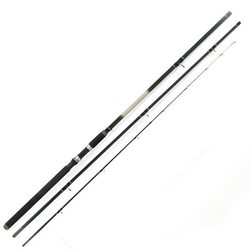 Удилище Фидерное Salmo Taifun Feeder 90 3.60Удилища фидерные и пикерные<br>Удилище фидер. Salmo Taifun FEEDER 90 3.60 дл.3.60м/тест <br>до 90г/строй M/вес 359г/3+3ч./дл.тр.125см/ Надежный, <br>среднего строя, трехколенный фидер с тремя <br>сменными вершинками-сигнализаторами разной <br>жесткости. Бланк, изготовленный из облегченного <br>стекловолокна, имеет крепление колен по <br>типу OVER STEEK, укомплектован кольцами со вставками <br>SIC, удобной неопреновой рукояткой и надежным <br>винтовым катушкодержателем. Рекомендуется <br>для широкого круга рыболовов. • Материал <br>бланка удилища – стекловолокно • Строй <br>бланка средний • Конструкция штекерная <br>Вершинки удилища: – сменные разной чувствительности <br>(3 шт.) – с сигнальной раскраской • Соединение <br>колен типа OVER STEEK Кольца пропускные: – со <br>вставками SIC • Рукоятка неопреновая • Катушкодержатель <br>винтового типа<br><br>Сезон: лето