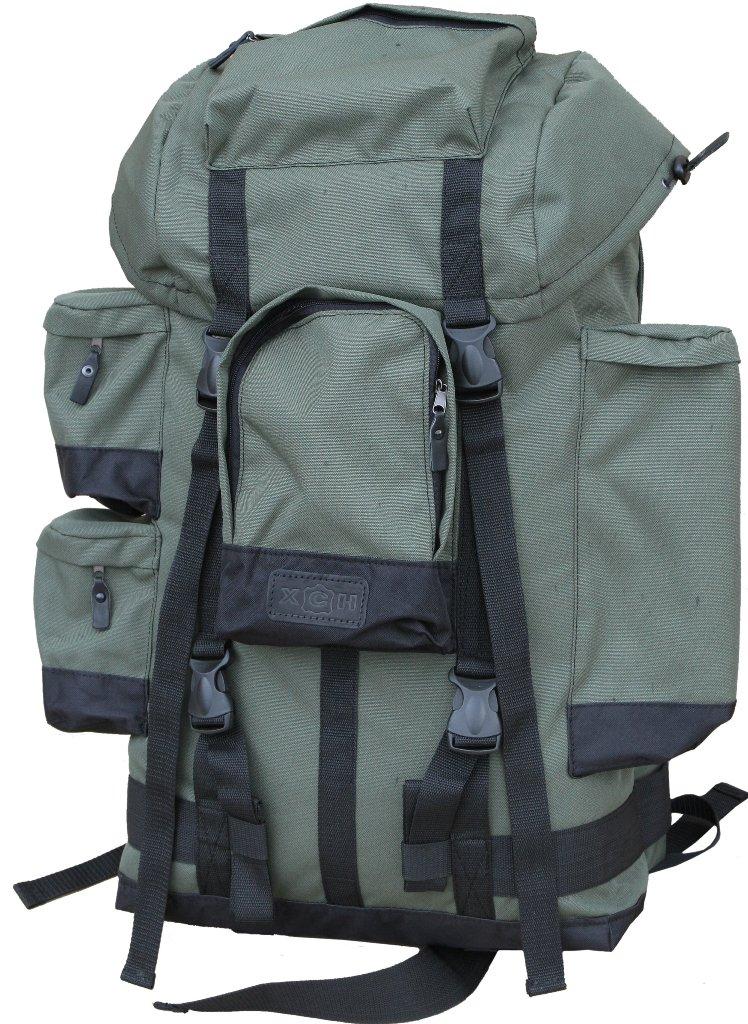 Рюкзак охотника ХСН №1, 70литров (971-1)Рюкзаки<br>Отлично подойдет любителям активного отдыха <br>и походов. Изготовлен из водооталкивающего <br>материала. Объем 70 литров. Особенности: <br>- специальная система для крепления оружия; <br>- съемный карман; - S образные анатомические <br>лямки; - удобный поясной ремень; - четыре <br>наружных кармана на молнии; - объемный клапан <br>с карманом; - грудной фиксатор; - пряжки-самосбросы.<br><br>Пол: унисекс<br>Сезон: Всесезонная<br>Цвет: оливковый<br>Материал: Oxford 600 D PU рип-стоп