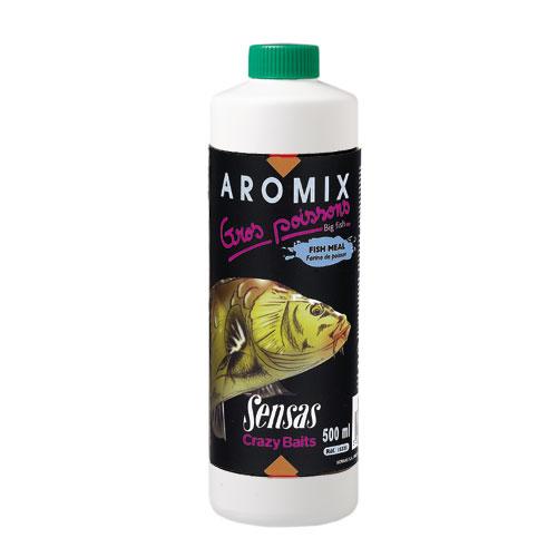 Ароматизатор Sensas Aromix Fish Meal 0.5ЛАроматизаторы<br>Ароматизатор Sensas AROMIX Fish Meal 0.5л сироп/рыбнаямука/10-25% <br>от объема воды/уп.0,5л Замечательная добавка <br>для ловли карпа, карася и другой крупной <br>рыбы с ароматом рыбной муки.<br><br>Сезон: лето