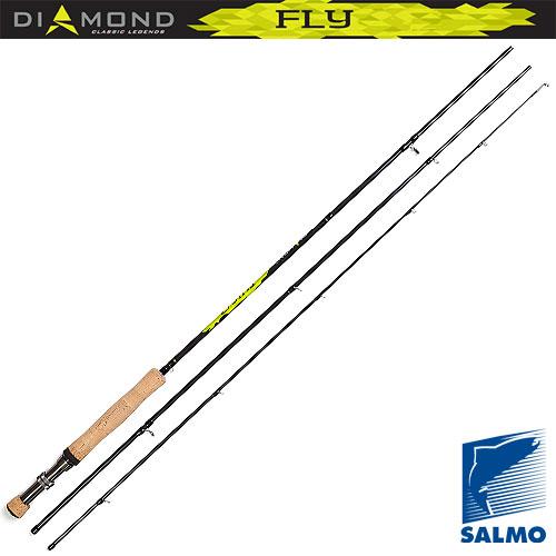 Удилище Нахлыстовое Salmo Diamond Fly Кл.5/6 2.71Удилища нахлыстовые<br>Удилище нахлыст. Salmo Diamond FLY кл.5/6 2.71 дл.2,7м/тест5-6г/строй <br>MF/вес110г/3дл.тр.94 Эти нахлыстовые удилища <br>средне-быстрого строя изготовлены из графита <br>im7 со специальным переплетением углеволокна. <br>С таким строем удилища начинающим рыболовам <br>легче всего осваивать основы ловли нахлыстом, <br>оно позволяет сделать плавный и прицельный <br>заброс мушки. Все удилища серии оснащены <br>пробковой рукояткой с классическим металлическим <br>катушкодержателем. Тюльпан и кольца верхнего <br>колена изготовлены из высококачественной <br>нержавеющей проволоки, с одной точкой крепления, <br>два самых больших кольца нижнего колена <br>имеют вставки sic, что способствует увеличению <br>дальности заброса и продлевает долговечность <br>шнура. Каждая из трех моделей удилищ изготовлена <br>под конкретный класс шнура. ? Материал бланка <br>удилища – углеволокно (im7) ? Строй бланка <br>средне-быстрый ? Конструкция штекерная <br>? Соединение колен типа oVer sTeek ? Кольца пропускные <br>большие со вставками sic ? Рукоятка пробковая <br>? Катушкодержатель винт<br><br>Сезон: лето