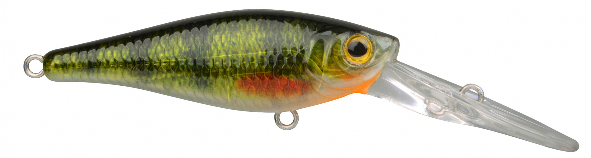 Воблер SPRO IKIRU SHAD60 LL GREEN PERCHВоблеры<br><br>