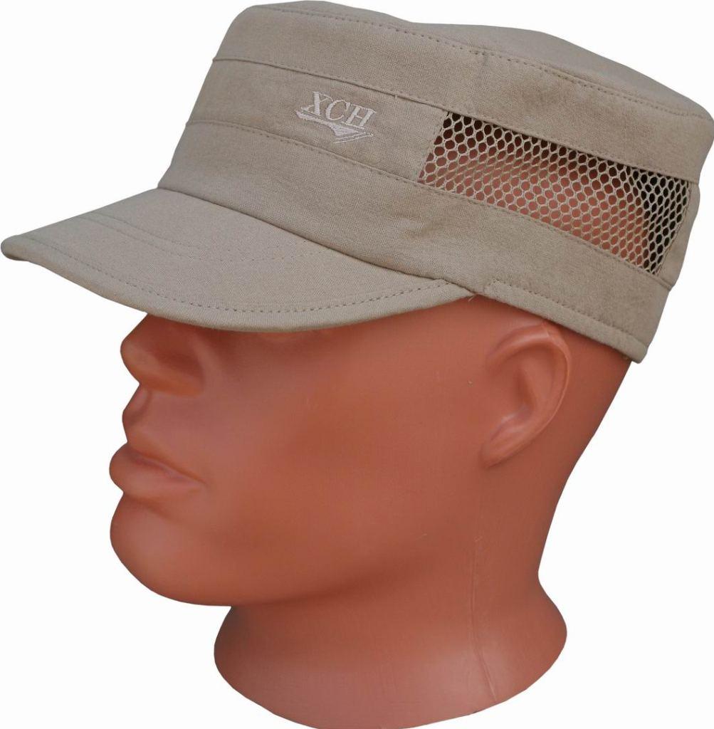 Кепи ХСН «Фазан» (9277-5)Кепки<br>Модель будет отлично сочетаться как с охотничьим <br>костюмом, так и с повседневной одеждой. <br>Кепи предназначено для использования в <br>осенне-весенний период. Изготовлена из <br>мембранной ткани. Комфортная температура <br>эксплуатации: от -5°С до +10°С. Особенности: <br>- козырек состоит из двух половинок; - вставка <br>из оранжевой сетки, расположенная по окружности <br>заднебоковой части и при необходимости <br>скрывающаяся под молнию; - фиксаторы различных <br>типов для подгонки изделия по размеру головы.<br><br>Пол: мужской<br>Размер: 57<br>Сезон: лето<br>Цвет: бежевый<br>Материал: 95% хлопок, 5% спандекс