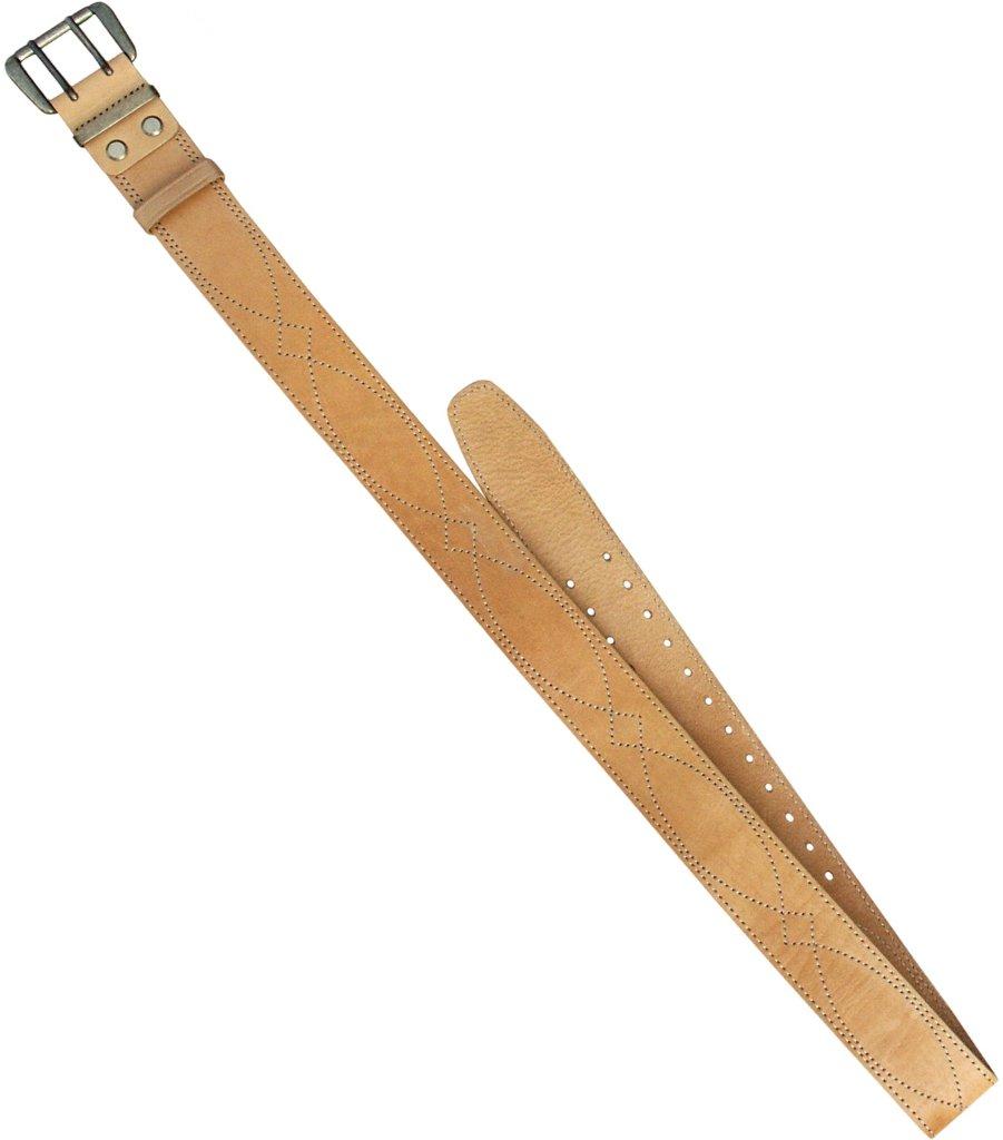 Ремень ХСН брючный 50 мм (364-1) (Светло-золотой, Ремни<br>Ремень изготовлен в традиционной форме <br>из натуральной кожи. Итальянская фурнитура <br>практически не звенит и не дает бликов. <br>Элитная кожа натурального сквозного прокраса. <br>Особенности: - ширина 50 мм<br><br>Пол: мужской<br>Размер: № 6 - 160 см<br>Сезон: все сезоны<br>Цвет: бежевый<br>Материал: Натуральная кожа