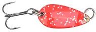 Блесна SPRO LEAF 1.4g FL-RED/BLACKБлесны<br>Сверхлегкие качественные Японские блесна <br>для ловли форели. Не только игра этой приманки, <br>но и заманчивые цвета являются спусковым <br>механизмом для атак крупной форели . Кроме <br>наших традиционных цветов мы также разработали <br>несколько блесен с цветами, которые пользуются <br>популярностью в Японии для современной <br>ловли форели.<br>