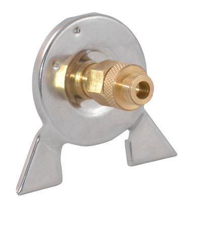 Переходник-адаптер СЛЕДОПЫТ горизонт. Аксессуары<br>Переходник PF-GSA-03 является адаптирующим <br>устройством, которое обеспечивает совместимость <br>газового оборудования использующего для <br>питания газовые баллоны резьбового стандарта <br>с газовыми баллонами нажимного типа использующими <br>цанговый захват. Переходник состоит из: <br>- Корпус, с цанговым зажимом. - Соединительная <br>муфта.<br>