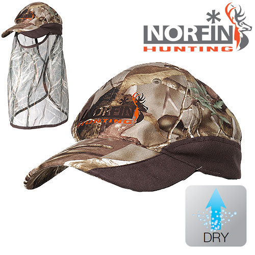 Бейсболка Norfin Hunting Passion Green