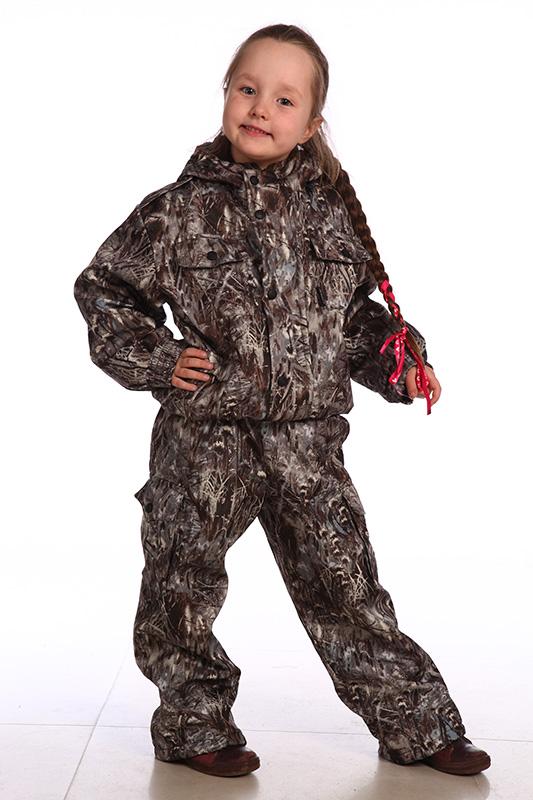 Костюм демисезонный детский Аватарчик Костюмы утепленные<br>Демисезонный костюм. - капюшон с регулировкой <br>лицевой части по высоте резиновым шнуром; <br>- фронтальная молния , закрытая ветрозащитной <br>планкой, застегивающейся на кнопки; - декоративные <br>погоны; - регулировочная пата на рукаве <br>на липучке; - регулировка низа по ширине <br>резиновым шнуром; - количество карманов <br>- 8. Ткань верха: Duplex Подкладка: Таффета 170Т <br>Утеплитель: Синтепон 150 гр/м2 Температурный <br>режим: от -2 до 10°С<br><br>Рост: 134<br>Сезон: демисезонный<br>Цвет: камуфляжный<br>Материал: Duplex