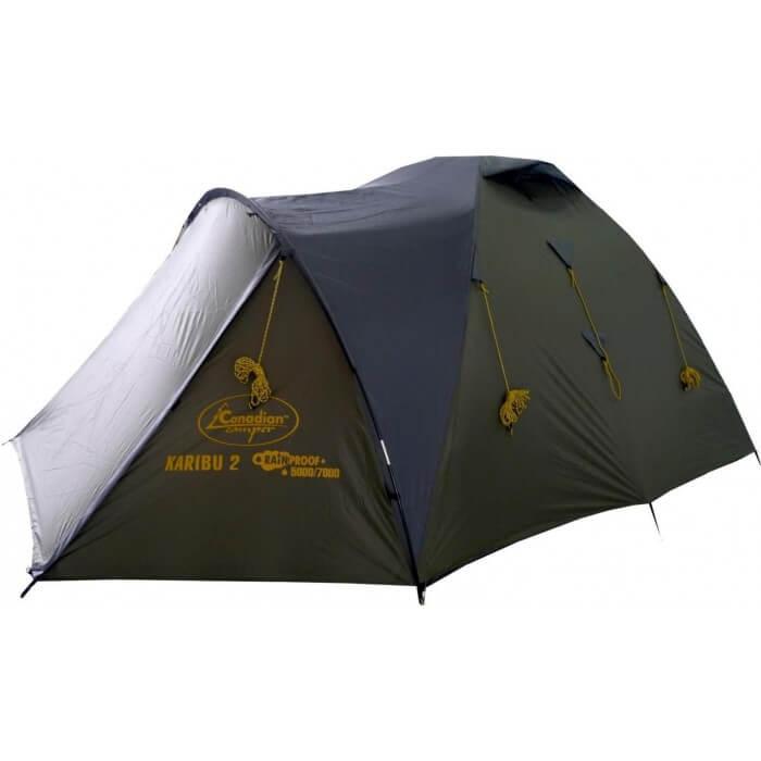 Палатка Canadian Camper KARIBU 2 (цвет forest дуги 8,5 мм)Палатки<br>Палатка KARIBU 2 (цвет forest дуги 8,5 мм). Основные <br>особенности: Компактная в сложенном виде <br>Два входа Внешний каркас Защита от ультрафиолета<br><br>Сезон: лето<br>Цвет: зеленый