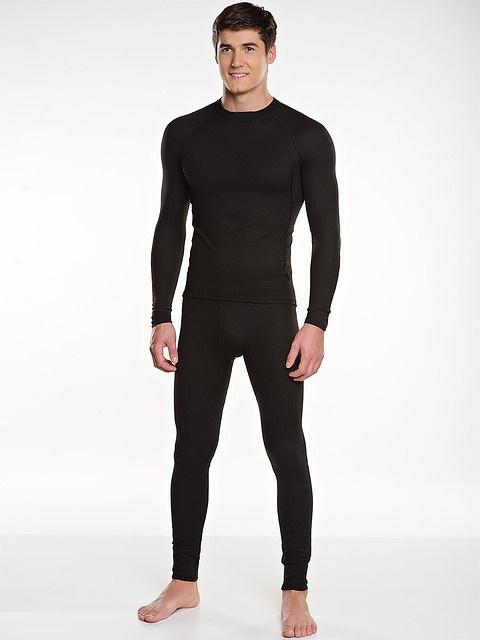 Термобельё в комплекте (фуфайка. кальсоны) Комплекты термобелья<br>Комплект создан для любителей активного <br>отдыха в холодное время года. Анатомический <br>облегающий крой максимально контактирует <br>с поверхностью тела, активно отводя влагу <br>в верхние слои одежды. Состав: 50% вискоза, <br>50% полиэстер оптимален для сохранения комфортной <br>температуры тела при любых погодных условиях <br>и двигательной активности. Плоские швы <br>способствуют износостойкости и не натирают <br>кожный покров. Удлинённая спинка фуфайки <br>надёжно прикрывает поясницу даже при высоко <br>поднятых руках.<br><br>Пол: мужской<br>Размер: 56<br>Сезон: зима<br>Материал: полиэстер