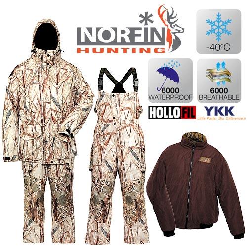 Костюм Зимний Norfin Hunting North Ritz (XXXL, 719006-XXXL)Костюмы утепленные<br>Костюм зим. Norfin Hunting NORTH RITZ 01 р.S разм.S/курт. <br>и полукомб./мат.NORTEX BREATHHABLE/ Водонепр.6000мм/Дыш.спос.мат.6000г <br>на кв. м за 24 ч./Утепл.HOLLOFIL/цв.Ritz Охотничий <br>костюм из не шуршащего материала, изготовленного <br>по технологии Norfin Silence. Костюм предназначен <br>для эксплуатации при температуре до-40°С. <br>Особенность – отстегивающаяся внутренняя <br>куртка, которую можно носить отдельно любой <br>стороной наружу: с однотонной или камуфлированной <br>расцветкой. Высокий полукомбинезон дополнительно <br>удерживает тепло и обеспечивает комфорт <br>в холодную и ветреную погоду.- КУРТКА Проклеенные <br>швы Двухзамковая застежка-молния YKK с клапаном- <br>Капюшон на замке-молнии с двухуровневой <br>регулировкой капюшона Фиксаторы, стягивающие <br>низ куртки и в области талии Карманы для <br>согрева рук идля мобильного телефона Регулируемые <br>манжеты на рукавах Боковые шлицы на молнии <br>Светоотражающие нашивки безопасности- <br>ВНУТРЕННЯЯ КУРТКА С утеплителем Двухсторонняя <br>Два кармана на каждой стороне Карман на <br>груди ПОЛУКОМБИНЕЗОН<br><br>Пол: мужской<br>Размер: XXXL<br>Сезон: зима<br>Цвет: бежевый